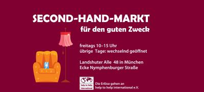 Charity-Second-Hand-Markt in München